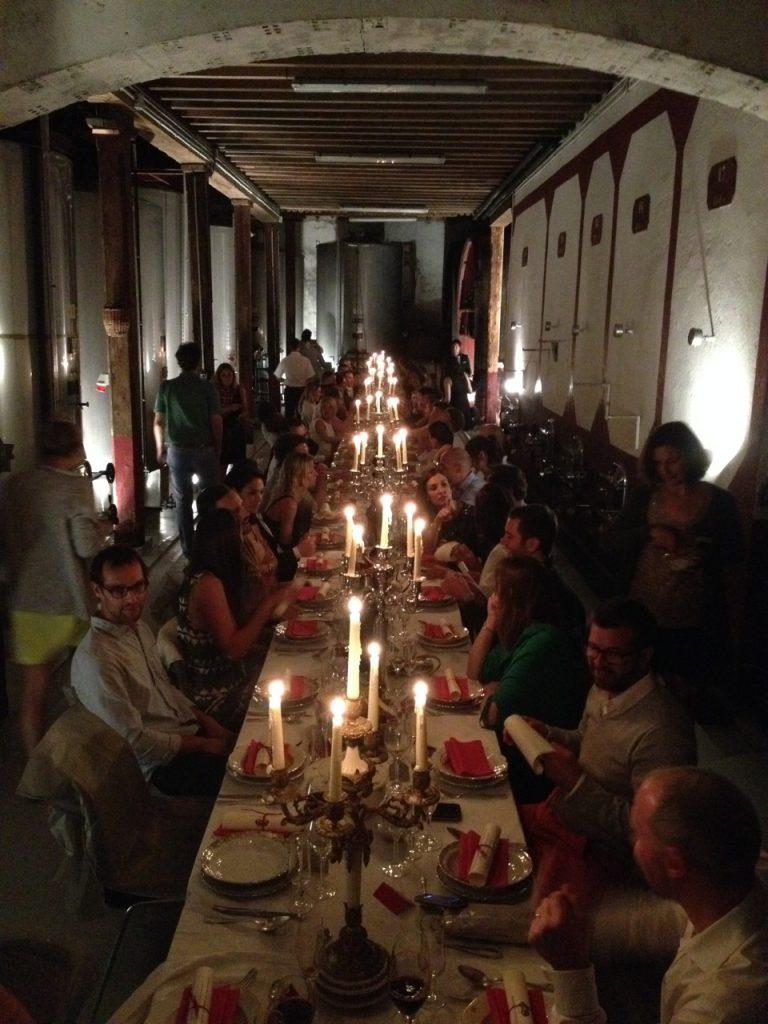 Repas du 40ème anniversaire au Château Guilhem