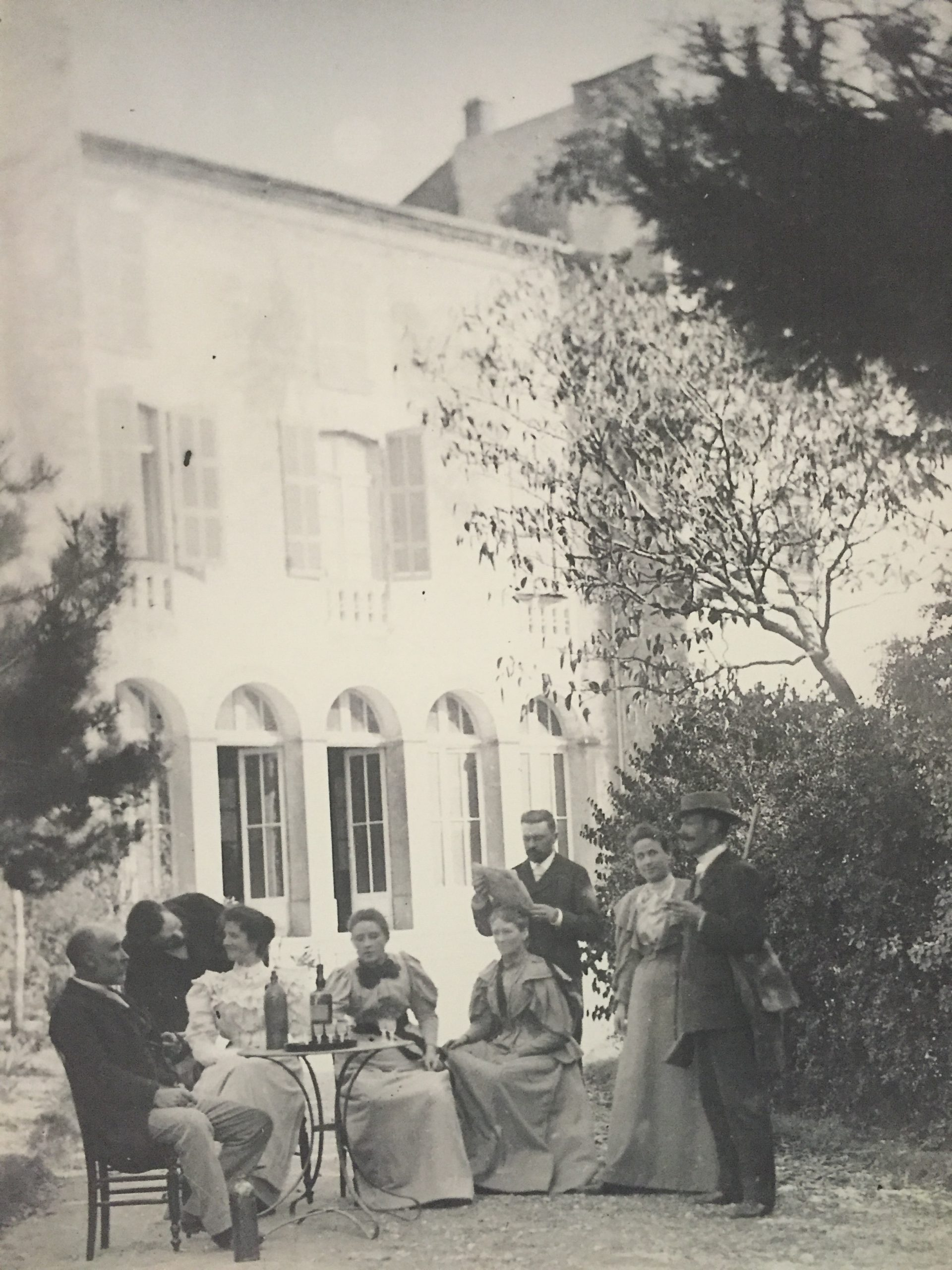 Portrait de famille - Famille Guilhem 1902