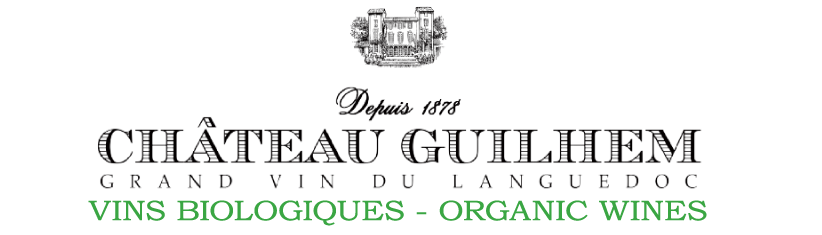Logo château Guilhem - vins du Languedoc - vins biologiques
