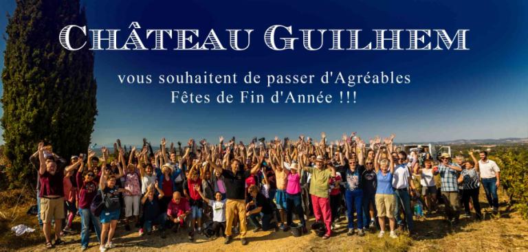 Voeux fins d'année Château Guilhem