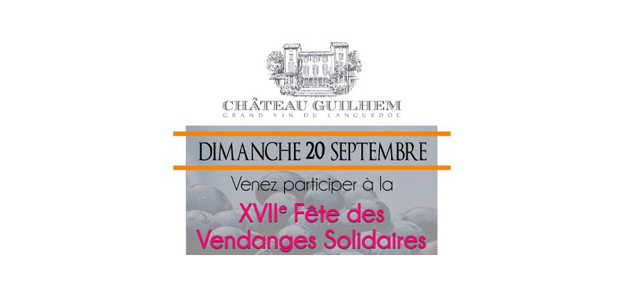 Fête des vendanges solidaires - Château Guilhem