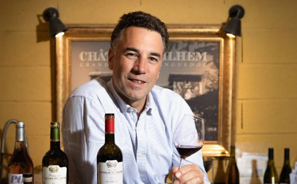 Bertrand Gourdou présente ses vins