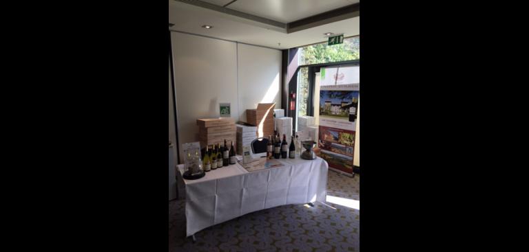 Stand salon du vin Château Guilhem