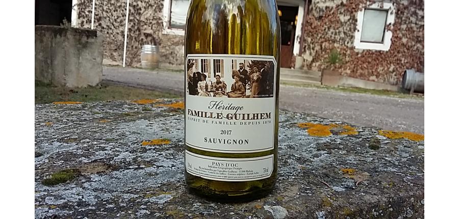 Etiquette Sauvignon 2017 - Héritage
