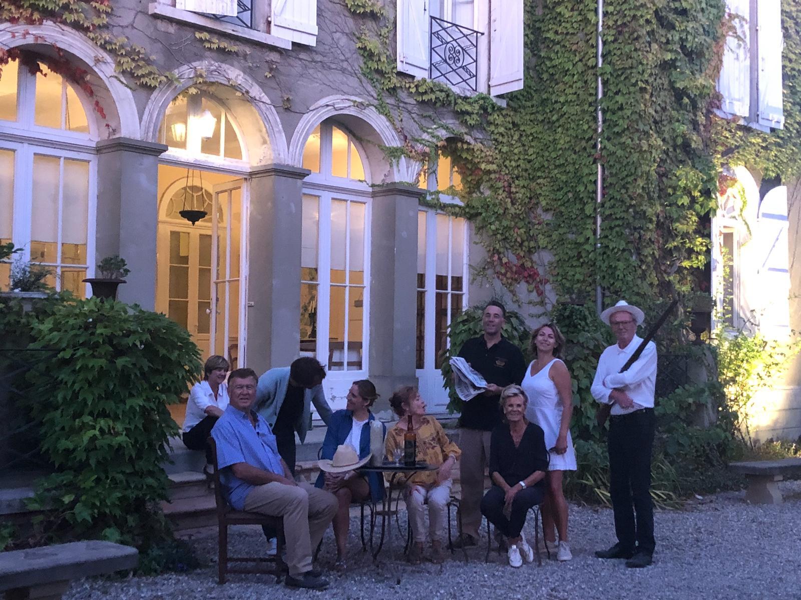 5 générations - propriété Château Guilhem